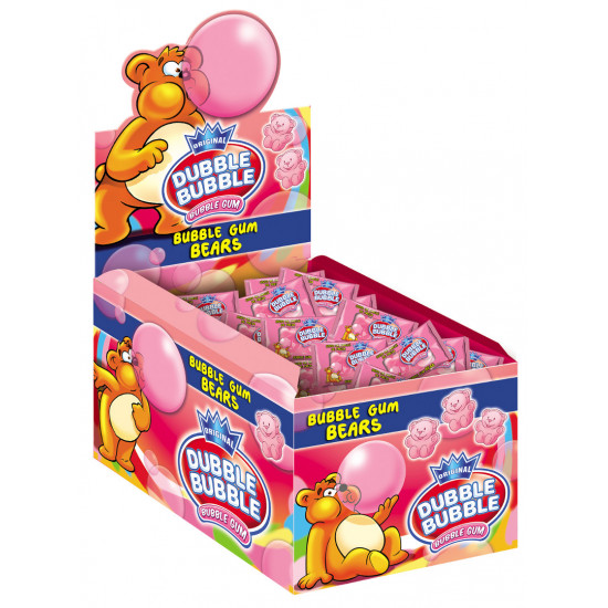 Dubble Bubble Ositos Fresa 150 unidades