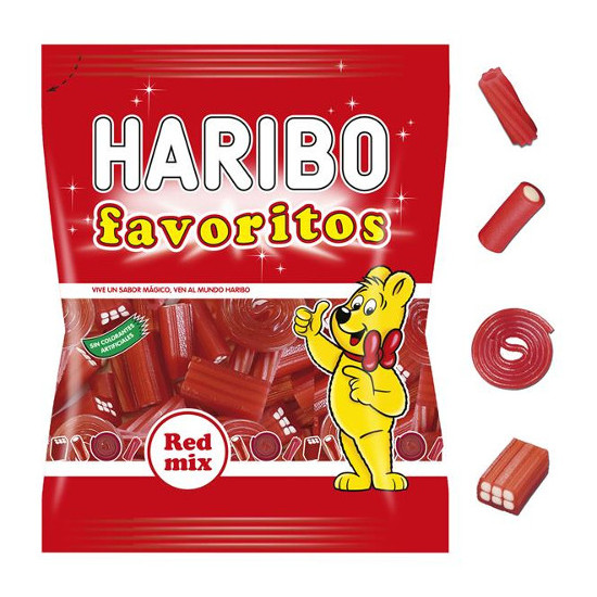 Haribo Red Mix 18 bolsas de 90g