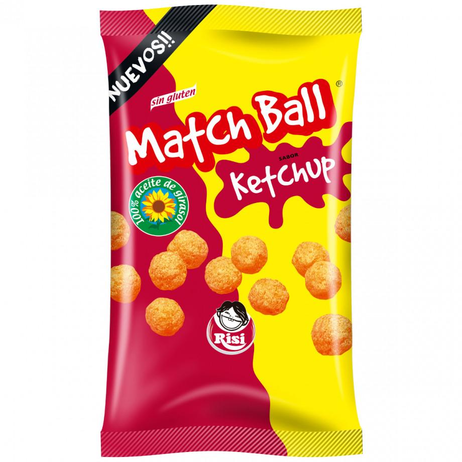 Match Ball Ketchup Familiar 12 unidades