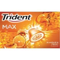 Trident Max Mandarina 16 unidades