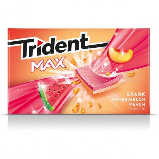 Trident Max Spark Watermelon 12 unidades