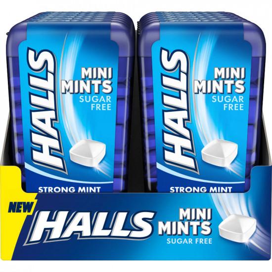 Halls Mini Mints Menta 12 unidades